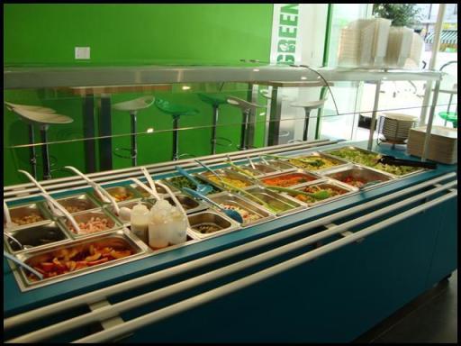GreenSpot salad bar