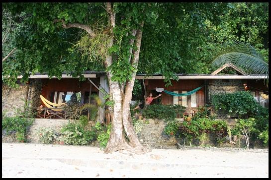 Our bungalow in Kadidiri (Togian Island)