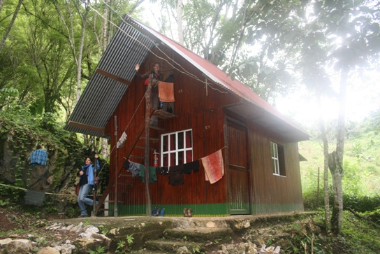 Our dorm in Semuc Champey