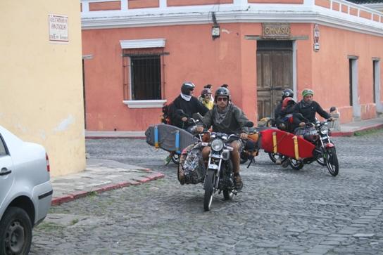 Crazy French bikeurs