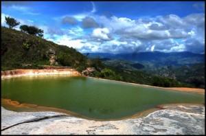 Hierve el Agua HDR Picture