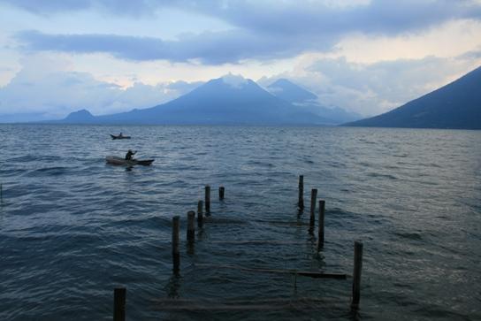 Lago de Atitlan sunset