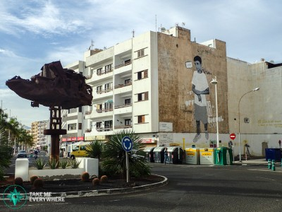 Streetart in Lanzarote