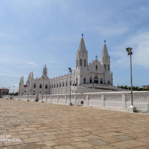 Another incredible church in Velankanni