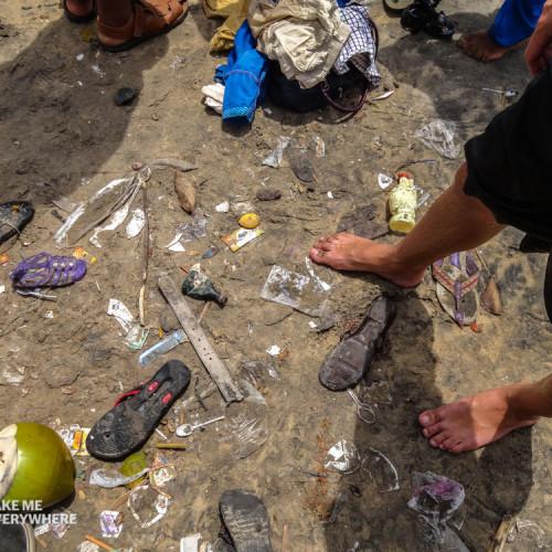 Dirtiest beach India