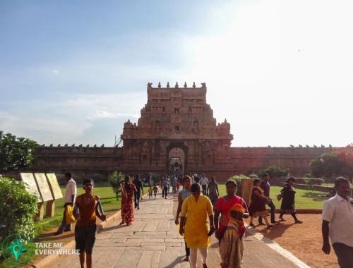 Brihadesvara temple entrance