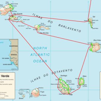 Cap Vert voyage
