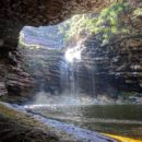 Big waterfall in Chapada de Diamantina