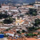The beautiful town of Ouro Preto