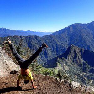 Handstand Machu Picchu