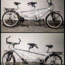 Travel tandem bycicle