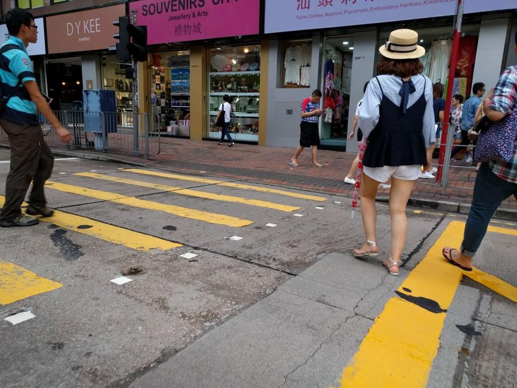 香港道路舗装