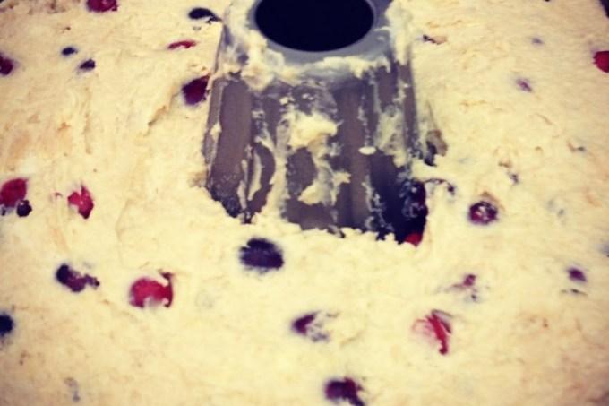 Eight Nights of Hanukkah Baking: Night #7, Cranberry Greek Yogurt Coffee Cake