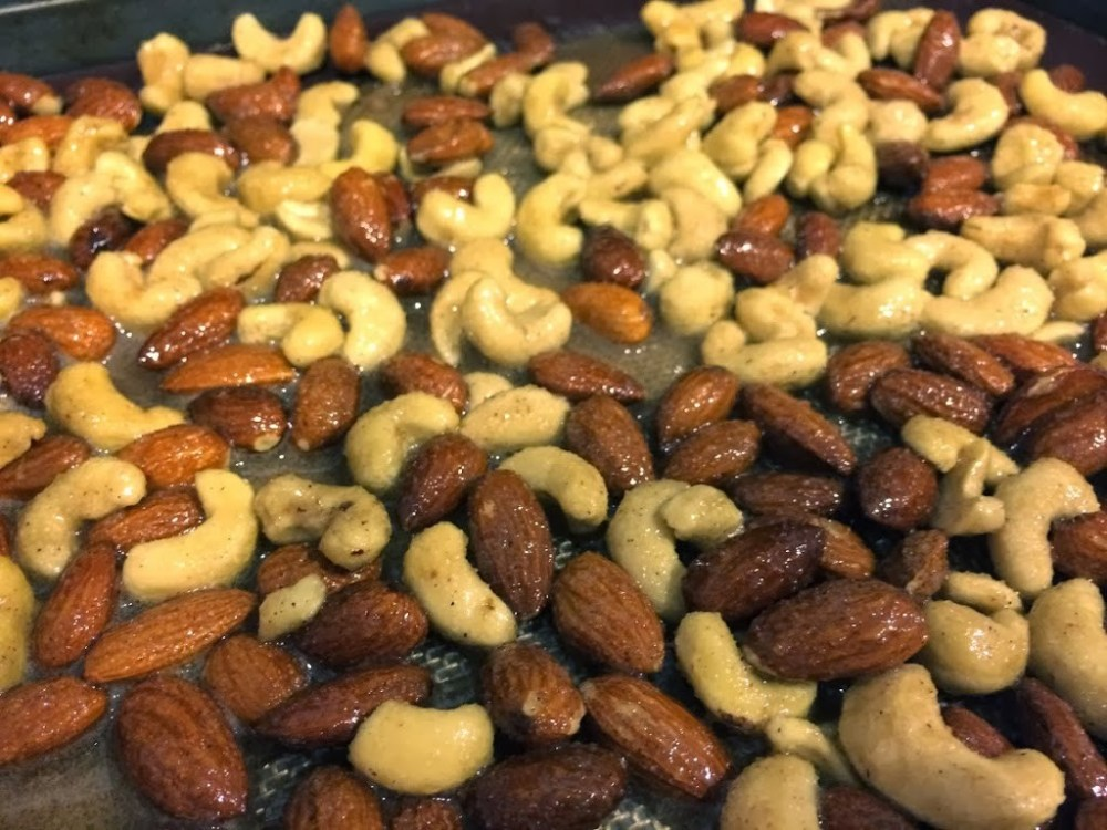 Chai Spiced Roasted Nuts for #SundaySupper