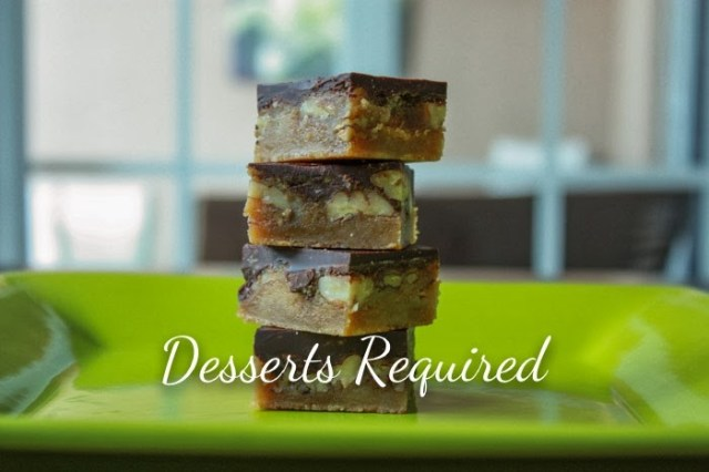 Guest Post: Butter Pecan Turtle Bars from Desserts Required