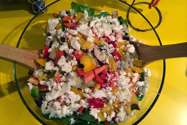 The Growing Greek Salad