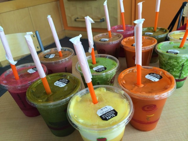 Juiced-To-Order: Adventures in Juice Tasting at Jamba Juice