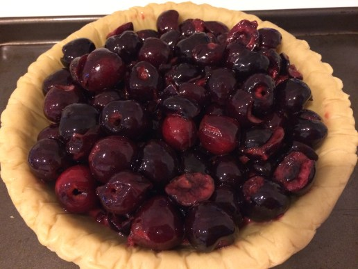 Cherry Almond Crumble Pie - Take A Bite Out of Boca #Leftoversclub