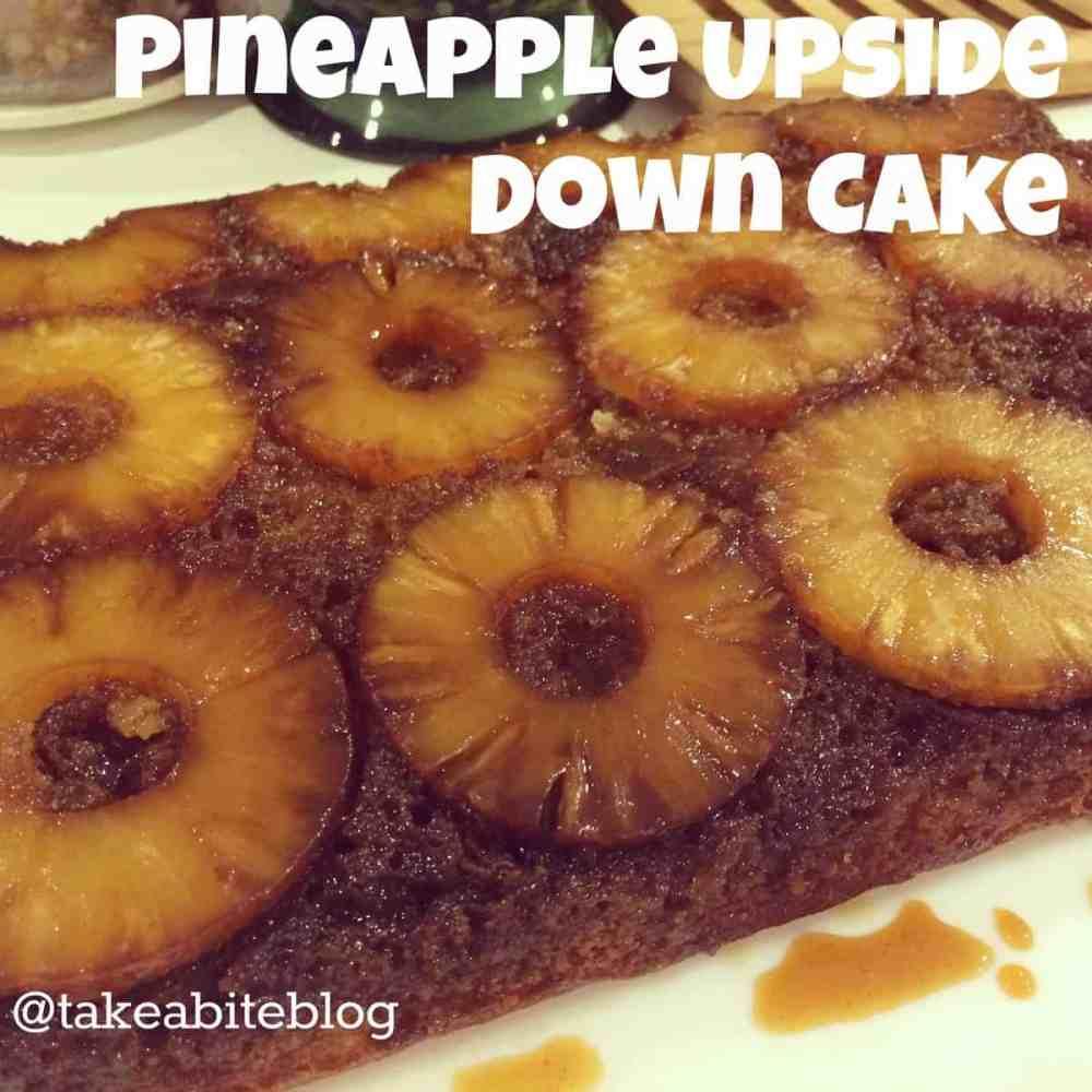 Pineapple Upside Down Cake #SundaySupper