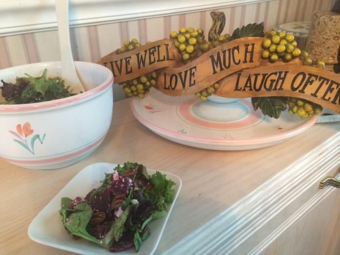Mixed Greens and Beet Salad