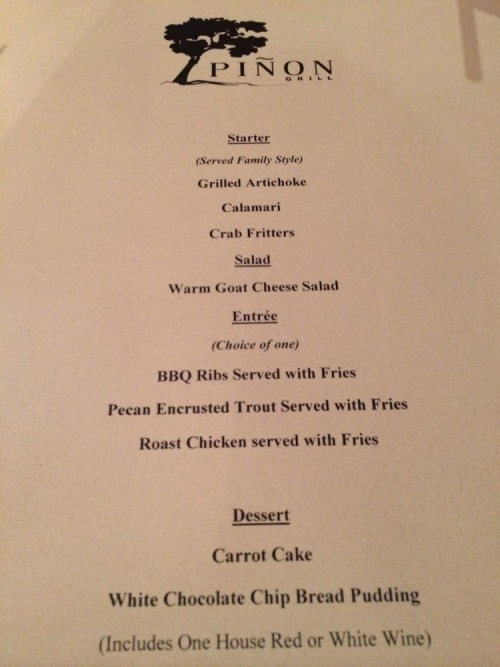 Foodie Event at Piñon Grill