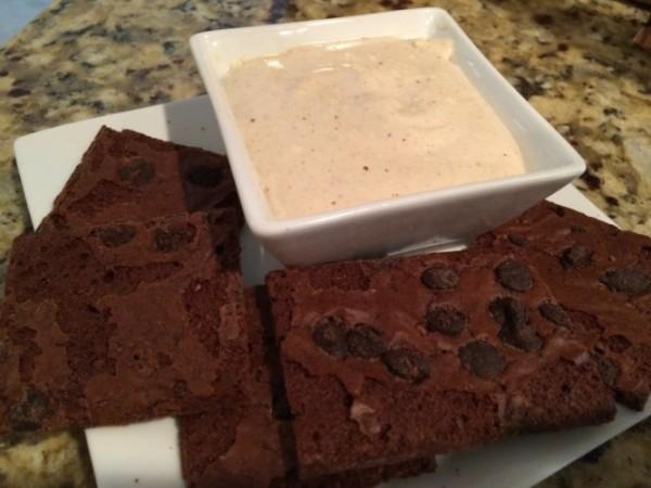 brown sugar cinnamon cheesecake dip