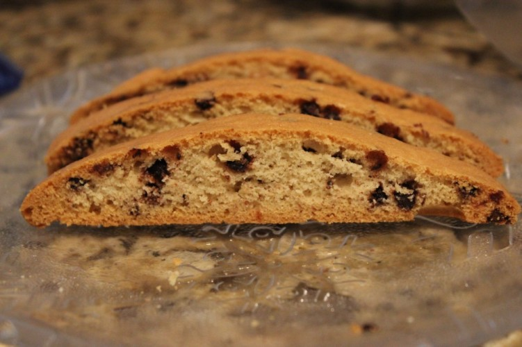 chocolate chip mandelbrot #fbcookieswap