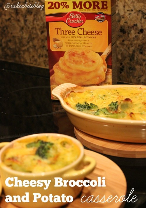 Cheesy Broccoli and Potato Casserole & Giveaway #GetYourBettyOn