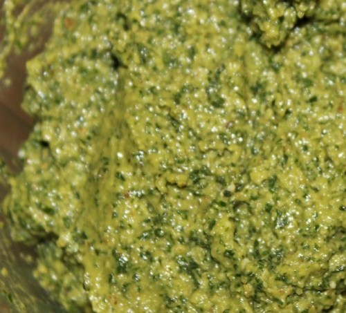 Kale-Basil Walnut Pesto & Easy No-Cook Meals #YahooDIY