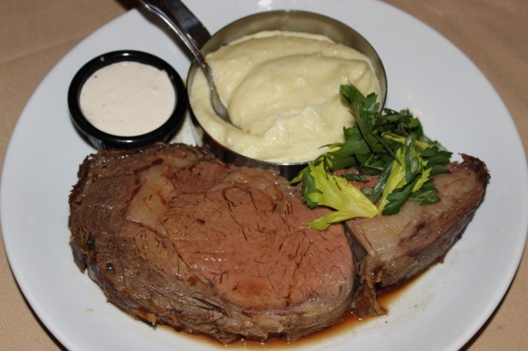 butcher block grill boca raton. prime rib and house made mashed potatoes