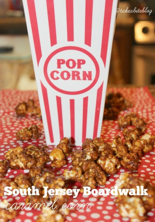 south jersey boardwalk caramel corn #sundaysupper
