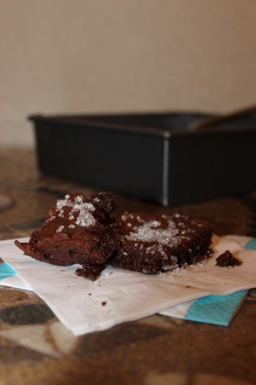 bourbon vanilla brownies #vanillaweek