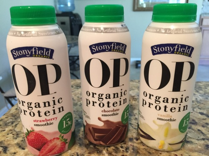Stonyfield Organic OP Smoothies #stonyfieldblogger