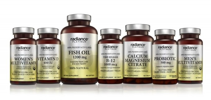 CVS/pharmacy Gold Emblem Abound & radiance PLATINUM