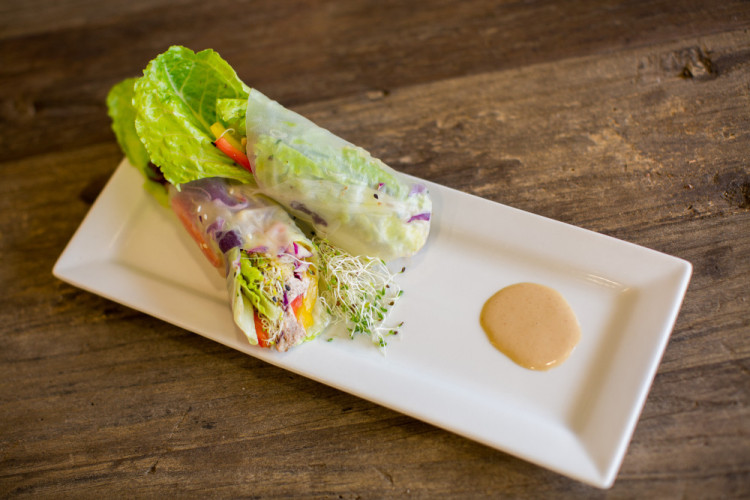 apurajuicery-37- Raw Asian Spring Roll