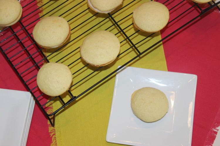 Lemon Ricotta Sandwich Cookies #leftoversclub