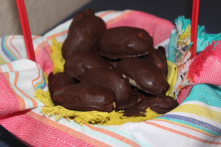 Chocolate Peanut Butter Eggs #WhenWeBake