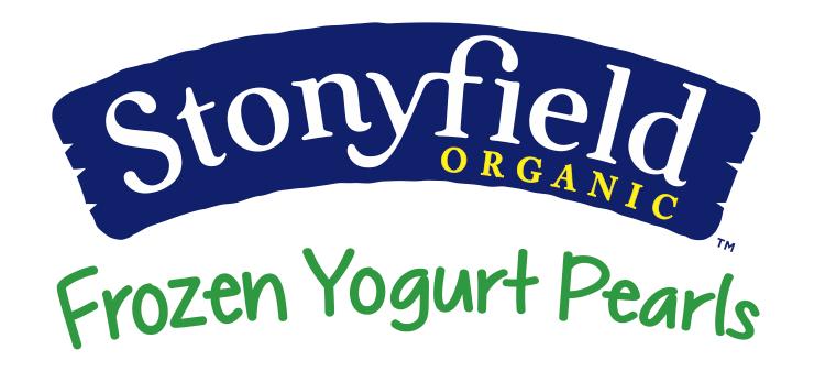 New Stonyfield Frozen Yogurt Pearls #stonyfieldblogger
