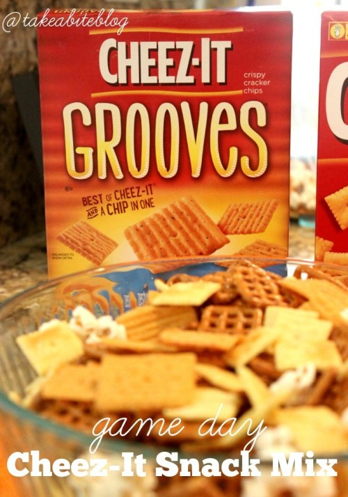 Game Day Cheez-It Snack Mix #MVCheezIt #CollectiveBias