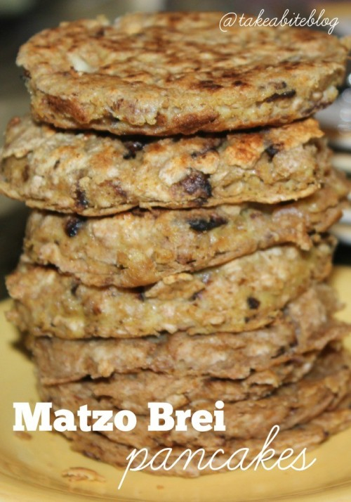 Matzo Brei Pancakes #SundaySupper