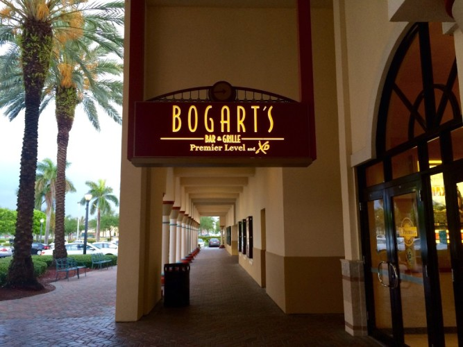 Dinner and a Movie at Bogart's Bar & Grille at Cinemark