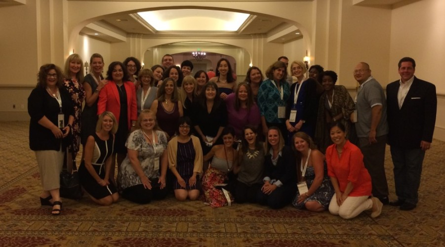 The #SundaySupper family after dinner at #FWCon 2014