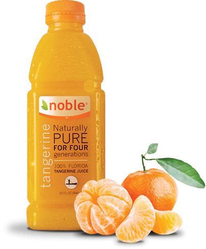 Wake up with Fresh Florida Juice from Seminole Pride Noble Juices #DrinkNoble