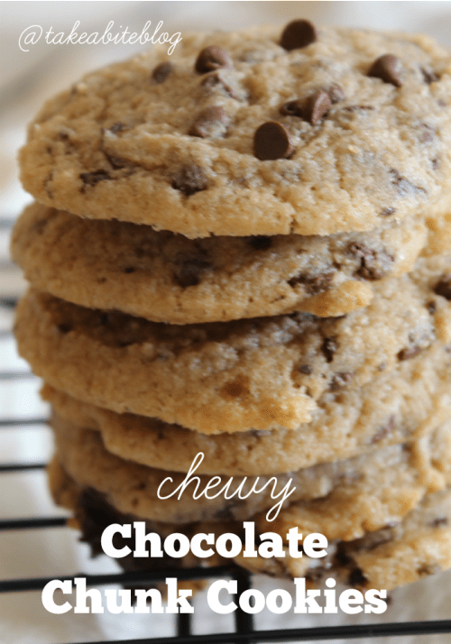 Chewy Chocolate Chunk Cookies #LeftoversClub