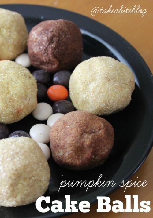 Pumpkin Spice Cake Balls #FallFlavors #CollectiveBias #Ad