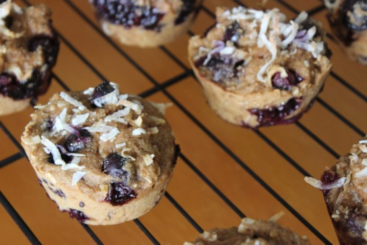 Blueberry Coconut Muffins #SundaySupper #JuneDairyMonth