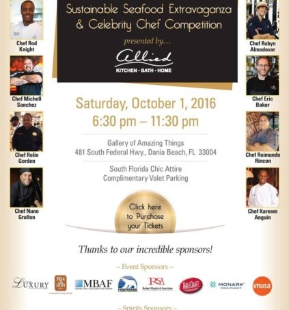 National Seafood Months Kicks off with the 3rd Annual Taste of the Sea