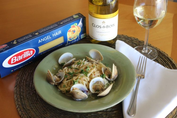 Linguine with Clams #thetalkofthetable