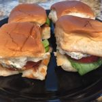 Blackened Fish Sliders with Lemon-Yogurt Sauce