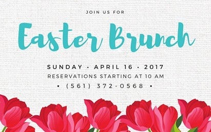 Easter Brunch at The Addison, Boca Raton